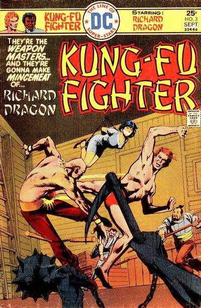 Richard Dragon: Kung-Fu Fighter #3 comic books - cover scans photos Richard Dragon: Kung-Fu Fighter #3 comic books - covers, picture gallery