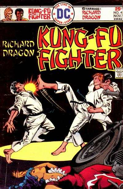 Richard Dragon: Kung-Fu Fighter #4 comic books - cover scans photos Richard Dragon: Kung-Fu Fighter #4 comic books - covers, picture gallery