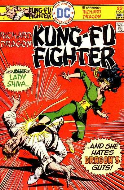 Richard Dragon: Kung-Fu Fighter #5 Comic Books - Covers, Scans, Photos  in Richard Dragon: Kung-Fu Fighter Comic Books - Covers, Scans, Gallery