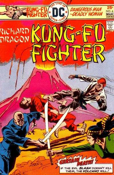 Richard Dragon: Kung-Fu Fighter #6 comic books - cover scans photos Richard Dragon: Kung-Fu Fighter #6 comic books - covers, picture gallery