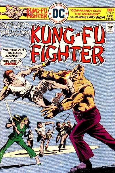 Richard Dragon: Kung-Fu Fighter #7 comic books for sale