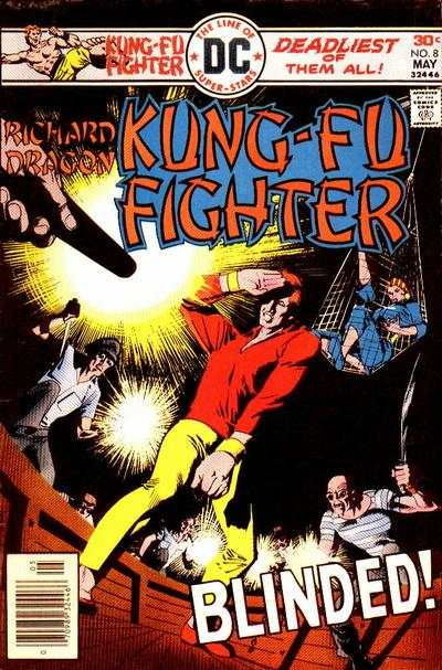 Richard Dragon: Kung-Fu Fighter #8 comic books - cover scans photos Richard Dragon: Kung-Fu Fighter #8 comic books - covers, picture gallery