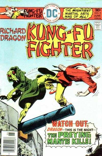 Richard Dragon: Kung-Fu Fighter #9 comic books for sale