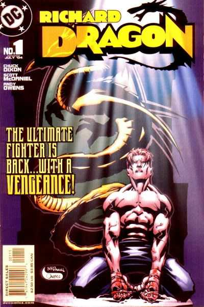 Richard Dragon #1 comic books for sale