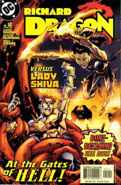 Richard Dragon #12 Comic Books - Covers, Scans, Photos  in Richard Dragon Comic Books - Covers, Scans, Gallery