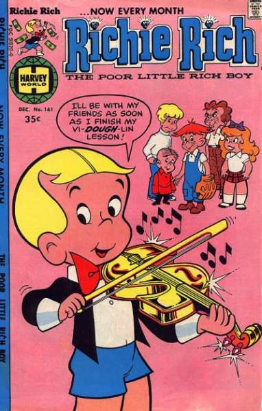 Richie Rich #161 Comic Books - Covers, Scans, Photos  in Richie Rich Comic Books - Covers, Scans, Gallery