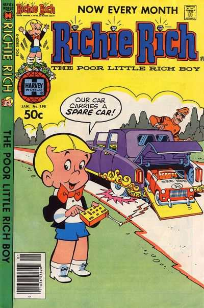 Richie Rich #198 Comic Books - Covers, Scans, Photos  in Richie Rich Comic Books - Covers, Scans, Gallery