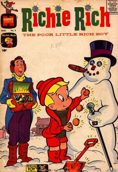 Richie Rich #3 Comic Books - Covers, Scans, Photos  in Richie Rich Comic Books - Covers, Scans, Gallery