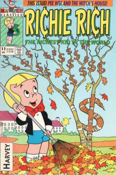 Richie Rich #11 Comic Books - Covers, Scans, Photos  in Richie Rich Comic Books - Covers, Scans, Gallery