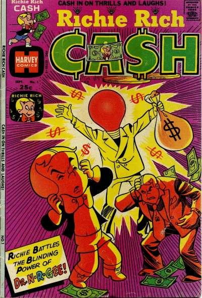 Richie Rich Cash Comic Books. Richie Rich Cash Comics.