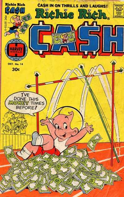 Richie Rich Cash #14 Comic Books - Covers, Scans, Photos  in Richie Rich Cash Comic Books - Covers, Scans, Gallery