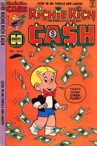Richie Rich Cash #23 Comic Books - Covers, Scans, Photos  in Richie Rich Cash Comic Books - Covers, Scans, Gallery