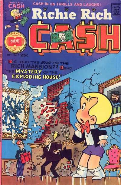 Richie Rich Cash #7 comic books - cover scans photos Richie Rich Cash #7 comic books - covers, picture gallery