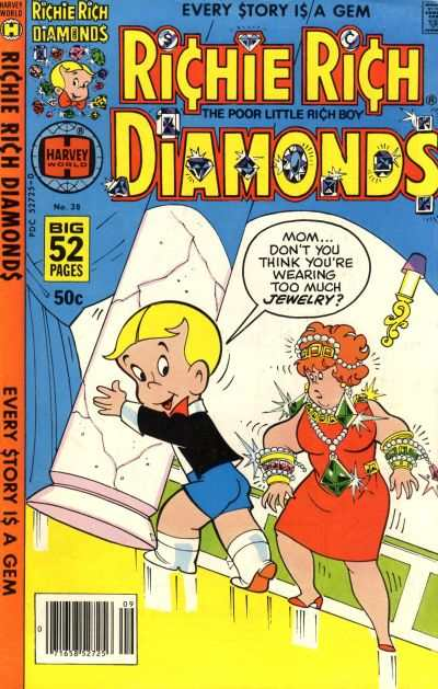 Richie Rich Diamonds #38 Comic Books - Covers, Scans, Photos  in Richie Rich Diamonds Comic Books - Covers, Scans, Gallery