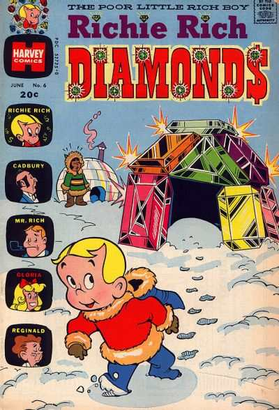 Richie Rich Diamonds #6 Comic Books - Covers, Scans, Photos  in Richie Rich Diamonds Comic Books - Covers, Scans, Gallery