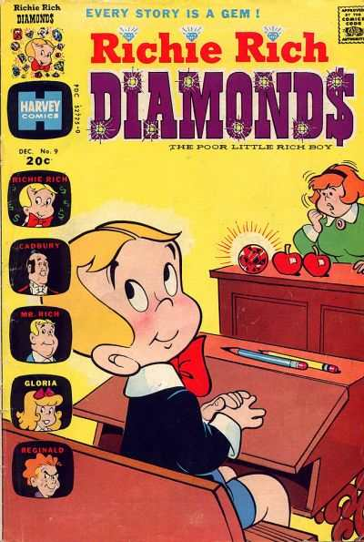 Richie Rich Diamonds #9 comic books for sale