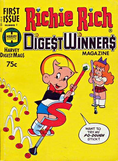 Richie Rich Digest Winners comic books
