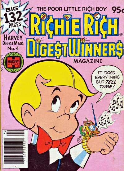 Richie Rich Digest Winners #4 comic books for sale