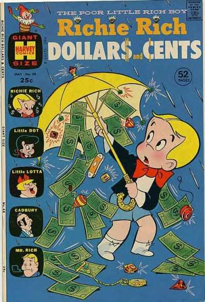 Richie Rich Dollars & Cents #48 Comic Books - Covers, Scans, Photos  in Richie Rich Dollars & Cents Comic Books - Covers, Scans, Gallery