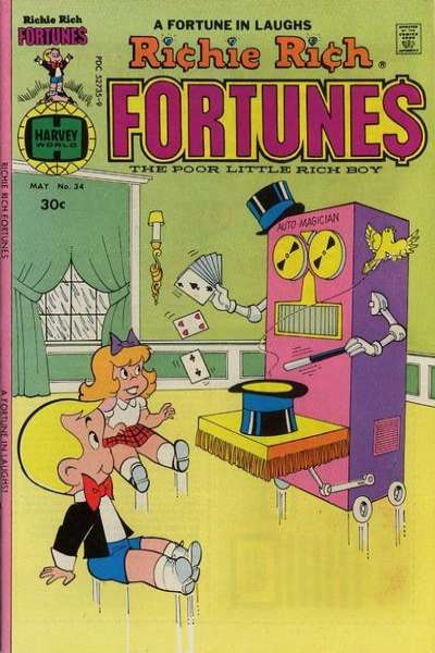 Richie Rich Fortunes #34 comic books for sale