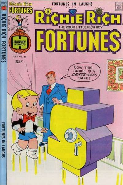 Richie Rich Fortunes #41 comic books for sale