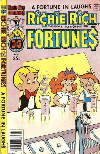 Richie Rich Fortunes #47 comic books for sale