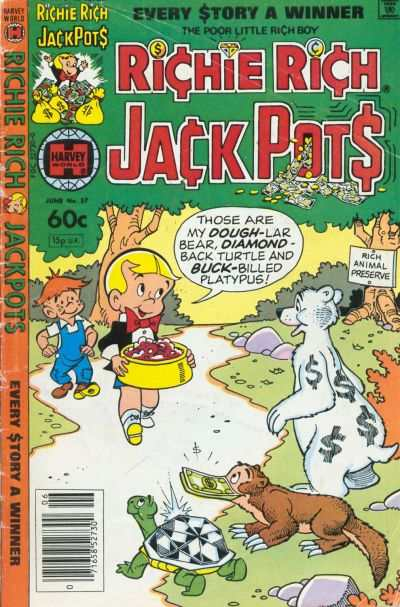 Richie Rich Jackpots #57 Comic Books - Covers, Scans, Photos  in Richie Rich Jackpots Comic Books - Covers, Scans, Gallery