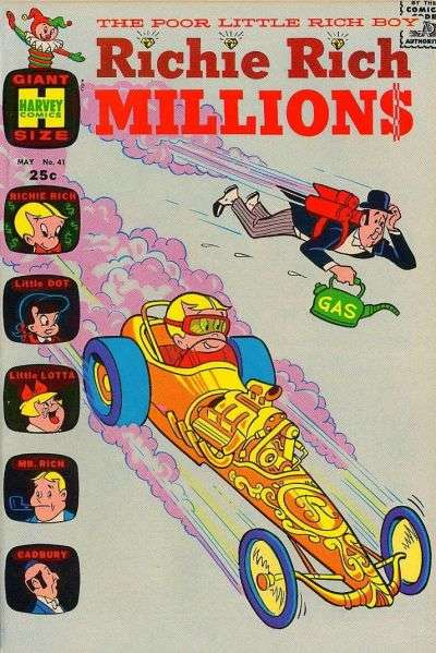 Richie Rich Millions #41 comic books - cover scans photos Richie Rich Millions #41 comic books - covers, picture gallery