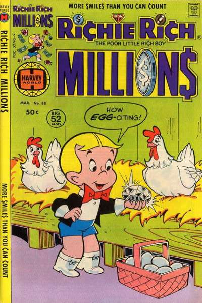 Richie Rich Millions #88 comic books for sale
