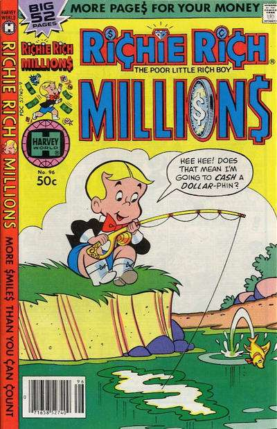 Richie Rich Millions #96 comic books for sale