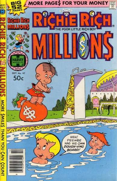 Richie Rich Millions #97 comic books - cover scans photos Richie Rich Millions #97 comic books - covers, picture gallery