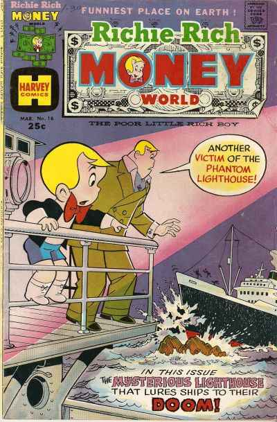 Richie Rich Money World #16 Comic Books - Covers, Scans, Photos  in Richie Rich Money World Comic Books - Covers, Scans, Gallery