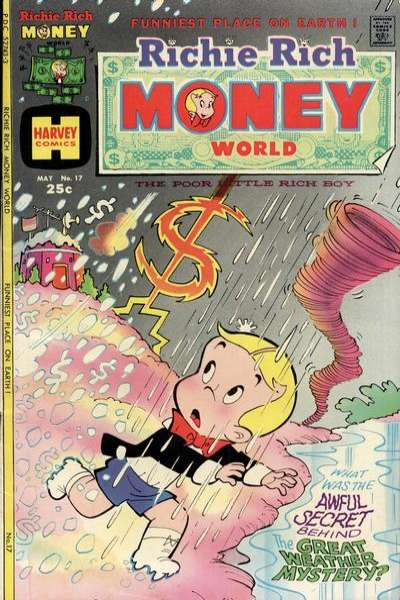 Richie Rich Money World #17 Comic Books - Covers, Scans, Photos  in Richie Rich Money World Comic Books - Covers, Scans, Gallery