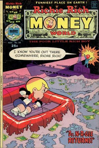 Richie Rich Money World #20 comic books for sale
