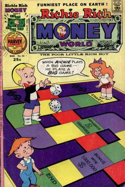 Richie Rich Money World #22 Comic Books - Covers, Scans, Photos  in Richie Rich Money World Comic Books - Covers, Scans, Gallery