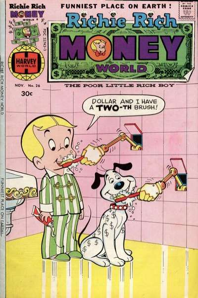 Richie Rich Money World #26 Comic Books - Covers, Scans, Photos  in Richie Rich Money World Comic Books - Covers, Scans, Gallery