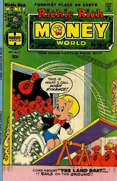 Richie Rich Money World #31 comic books - cover scans photos Richie Rich Money World #31 comic books - covers, picture gallery