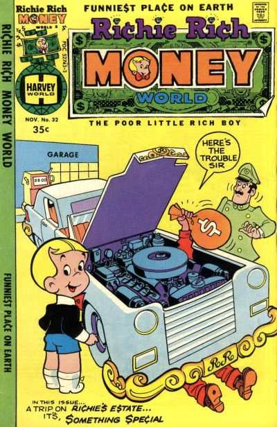 Richie Rich Money World #32 Comic Books - Covers, Scans, Photos  in Richie Rich Money World Comic Books - Covers, Scans, Gallery