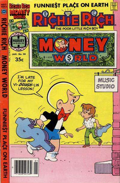 Richie Rich Money World #38 comic books for sale