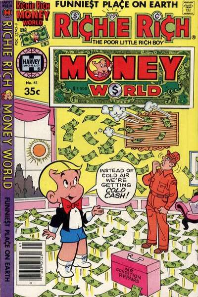 Richie Rich Money World #41 comic books - cover scans photos Richie Rich Money World #41 comic books - covers, picture gallery