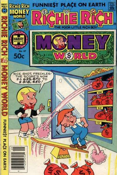 Richie Rich Money World #47 Comic Books - Covers, Scans, Photos  in Richie Rich Money World Comic Books - Covers, Scans, Gallery