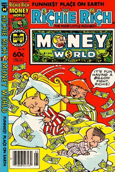 Richie Rich Money World #55 Comic Books - Covers, Scans, Photos  in Richie Rich Money World Comic Books - Covers, Scans, Gallery