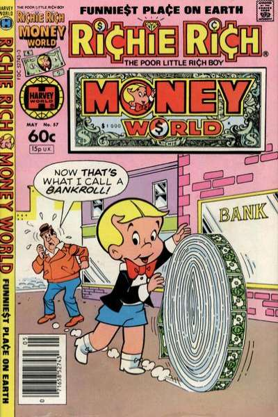 Richie Rich Money World #57 Comic Books - Covers, Scans, Photos  in Richie Rich Money World Comic Books - Covers, Scans, Gallery