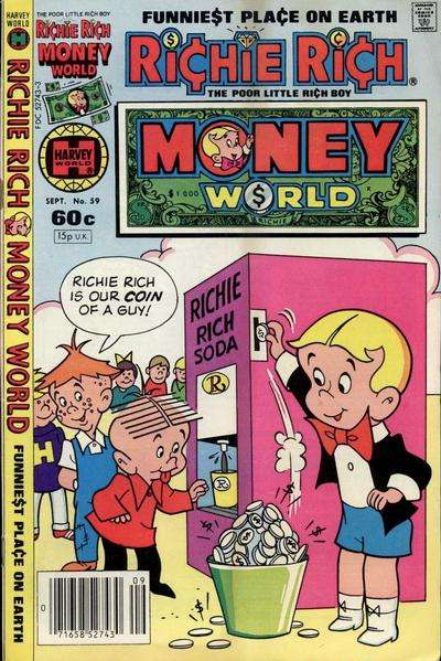 Richie Rich Money World #59 Comic Books - Covers, Scans, Photos  in Richie Rich Money World Comic Books - Covers, Scans, Gallery