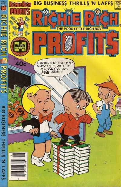Richie Rich Profits #31 comic books for sale