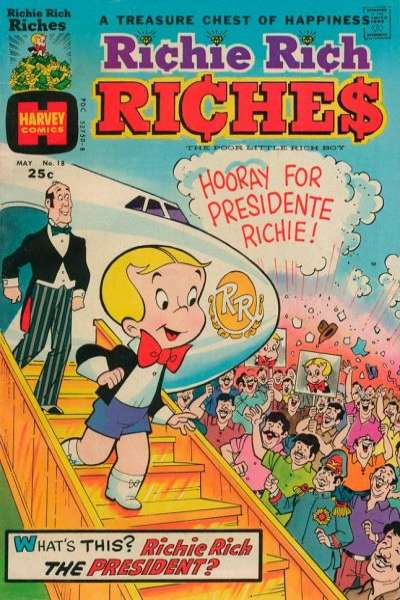 Richie Rich Riches #18 comic books for sale