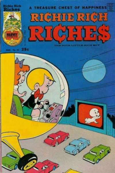 Richie Rich Riches #23 Comic Books - Covers, Scans, Photos  in Richie Rich Riches Comic Books - Covers, Scans, Gallery