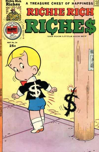 Richie Rich Riches #24 Comic Books - Covers, Scans, Photos  in Richie Rich Riches Comic Books - Covers, Scans, Gallery