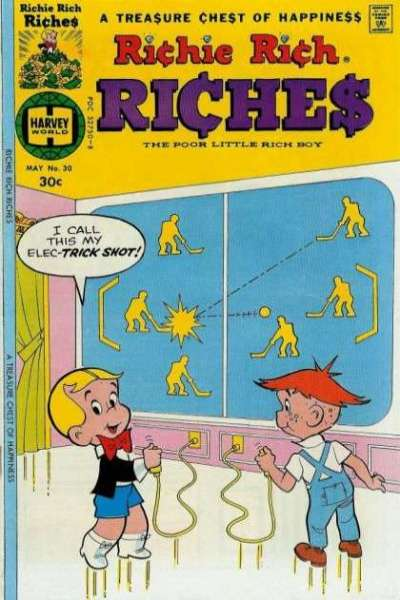 Richie Rich Riches #30 Comic Books - Covers, Scans, Photos  in Richie Rich Riches Comic Books - Covers, Scans, Gallery