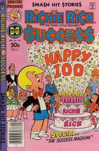 Richie Rich Success Stories #100 Comic Books - Covers, Scans, Photos  in Richie Rich Success Stories Comic Books - Covers, Scans, Gallery